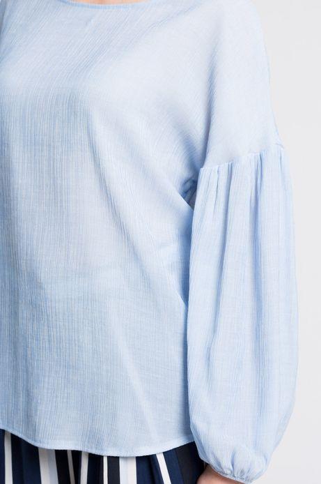 Bluzka Gothenburg niebieska