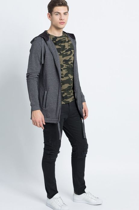 Man's Bluza Urban Uniform szara