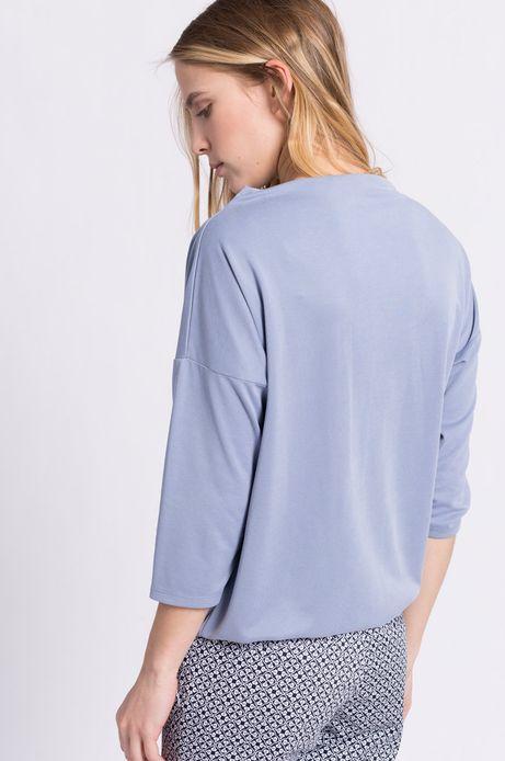 Bluzka Less Is More niebieska