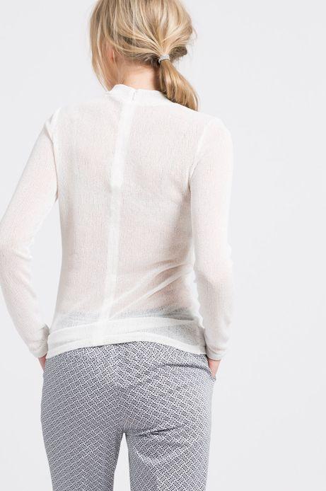 Woman's Bluzka Gothenburg biała