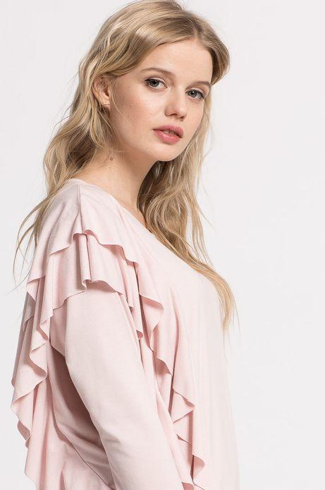 Bluzka Tea Party różowa