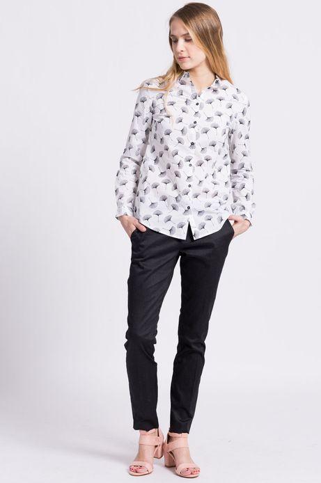 Woman's Koszula Less Is More biała