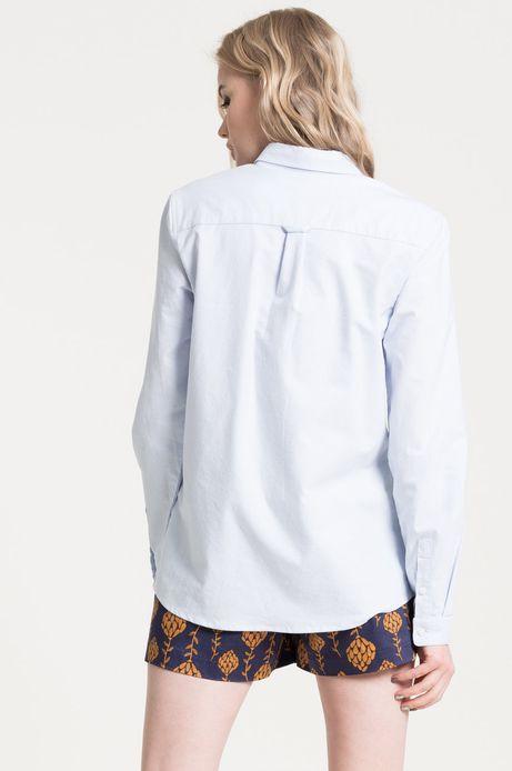 Koszula Gothenburg niebieska
