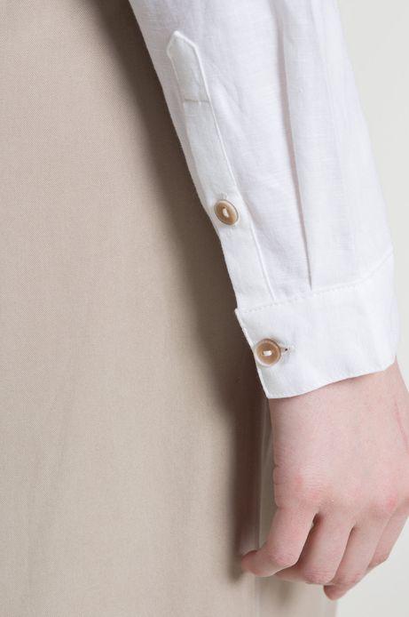 Koszula Linen Line biała