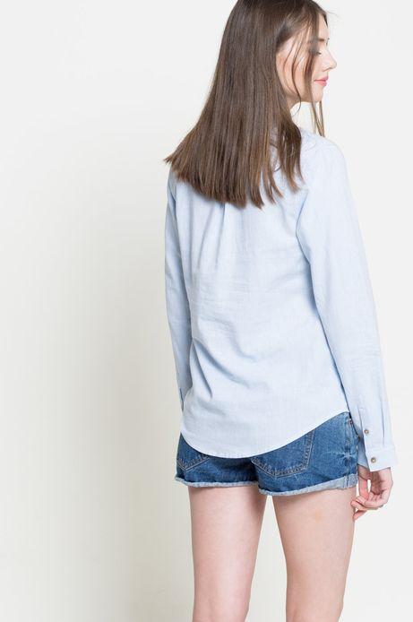 Koszula Linen Line niebieska