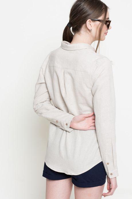 Koszula Linen Line beżowa