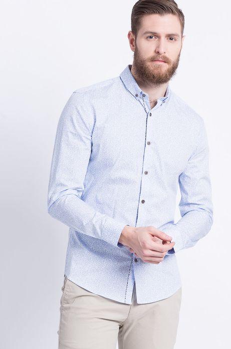 Koszula Less Is More niebieska