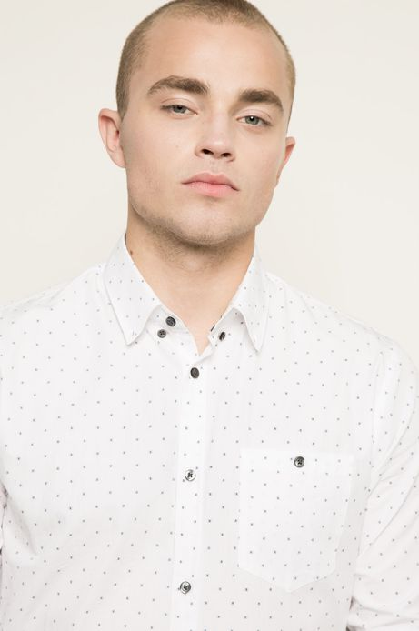 Man's Koszula Indigo Resort biała