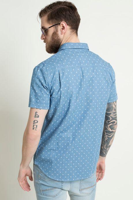 Koszula The Botanist niebieska