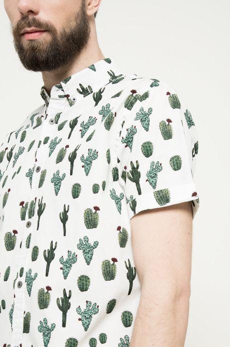 Koszula Aztec Roots biała