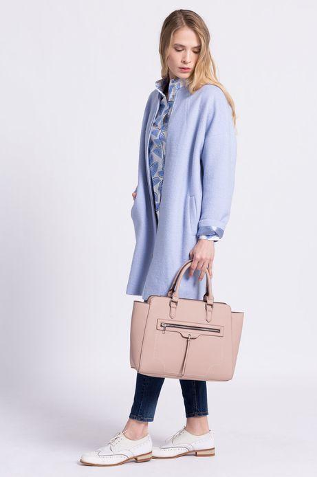 Płaszcz Less Is More niebieski