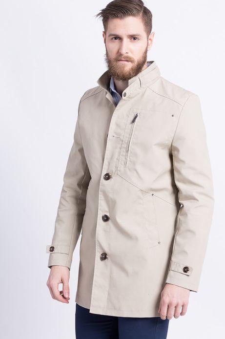 Man's Płaszcz Less Is More żółty