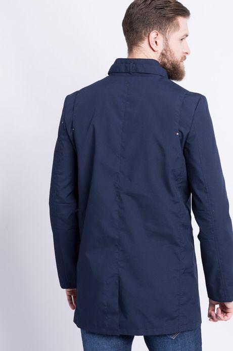 Płaszcz Less Is More granatowy