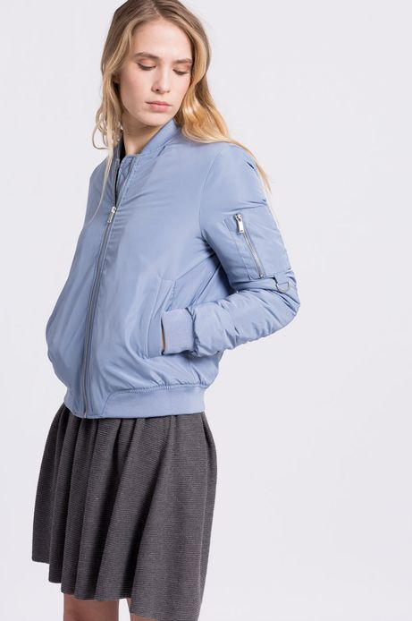 Woman's Kurtka bomber Less Is More niebieska