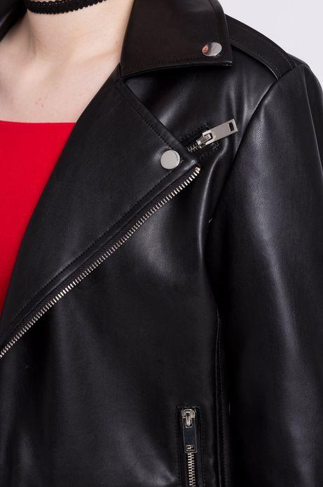 Woman's Kurtka Urban Uniform czarna