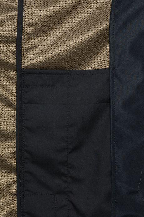 Man's Kurtka Urban Uniform czarna