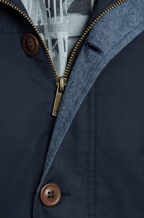 Man's Kurtka Urban Uniform granatowa