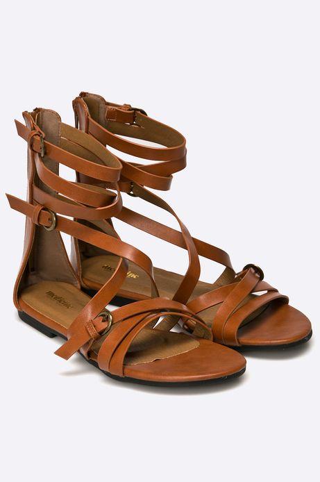Sandały African Vibe brązowe