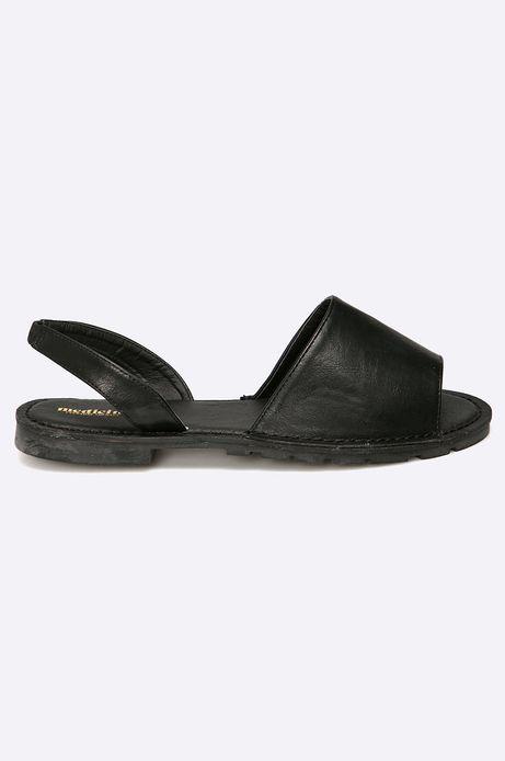Woman's Sandały African Vibe czarne