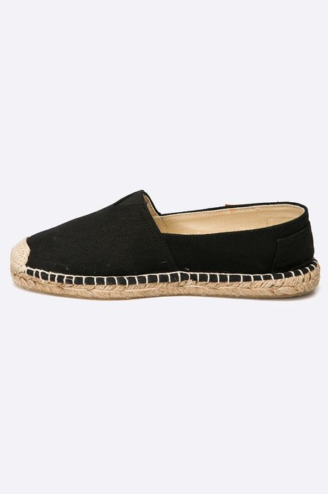 Espadryle Tea Party czarne