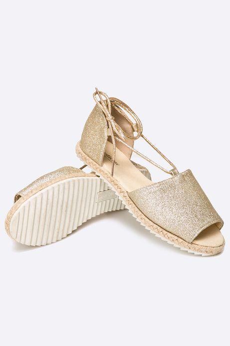 Sandały African Vibe złote