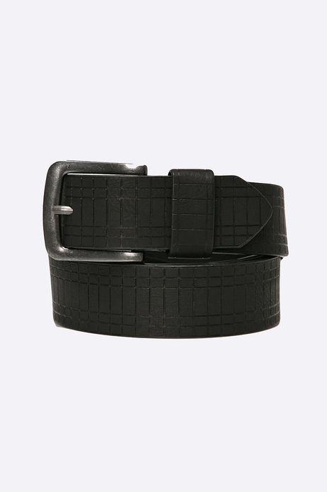 Man's Pasek Modern Staples czarny