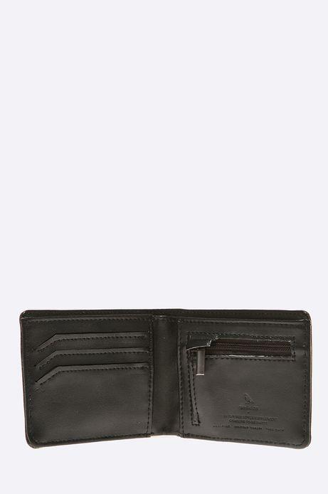 Man's Portfel Modern Staples czarny