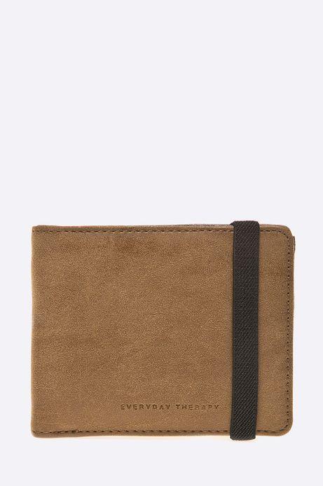 Man's Portfel Modern Staples brązowy