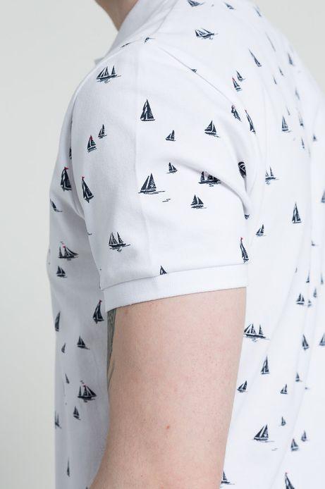 Polo Ahoy Sailor białe