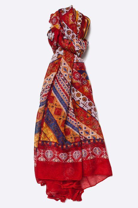 Szal Marrakesh różowy