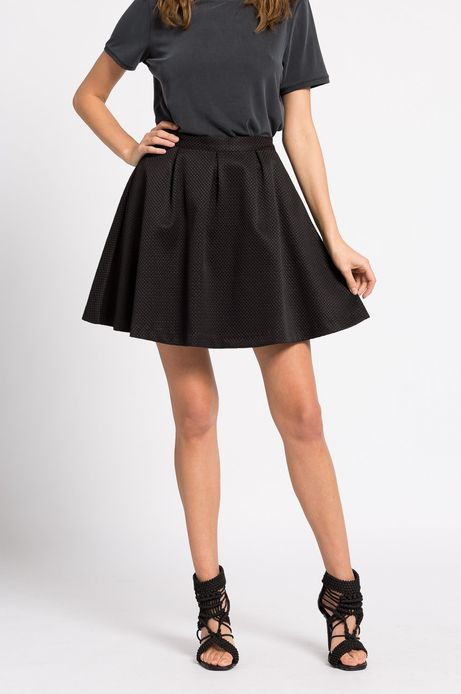 Woman's Spódnica Wonderland czarna