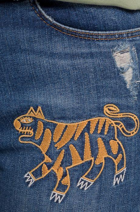 Jeansy Urban Uniform niebieskie
