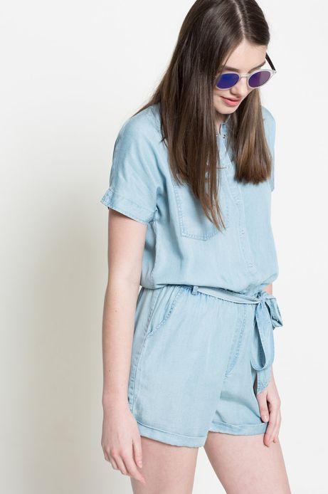 Woman's Kombinezon Forever Blue niebieski