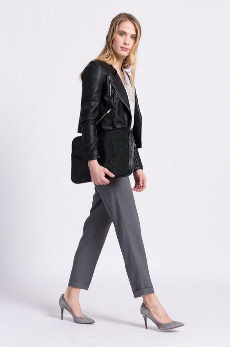 Spodnie Less Is More szare