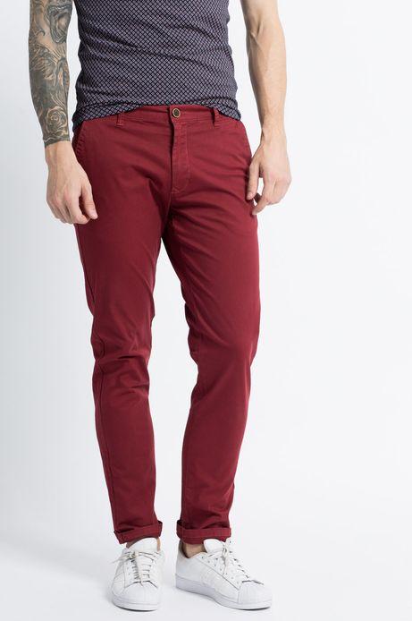 Man's Spodnie Let's Party czerwone