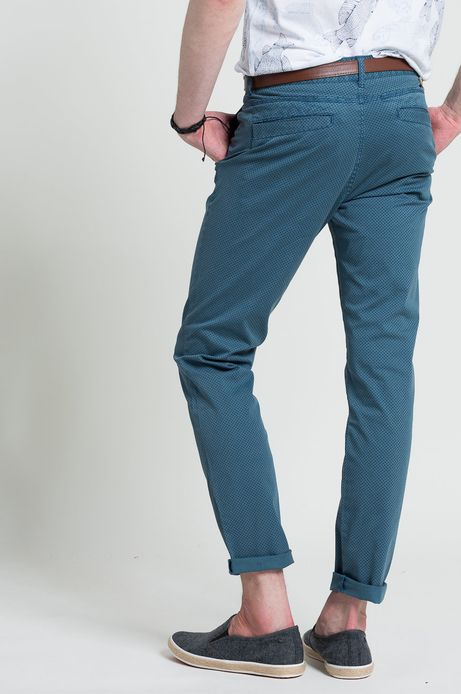 Spodnie Ahoy Sailor niebieskie