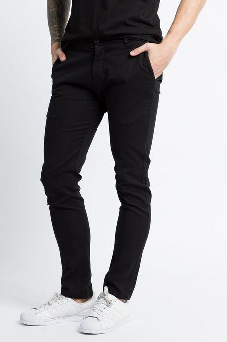 Man's Spodnie Let's Party czarne