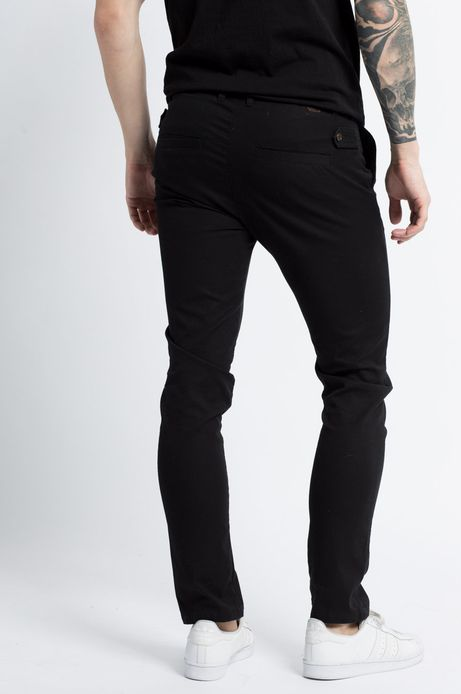 Spodnie Let's Party czarne