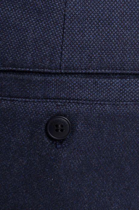 Man's Spodnie Less Is More granatowe