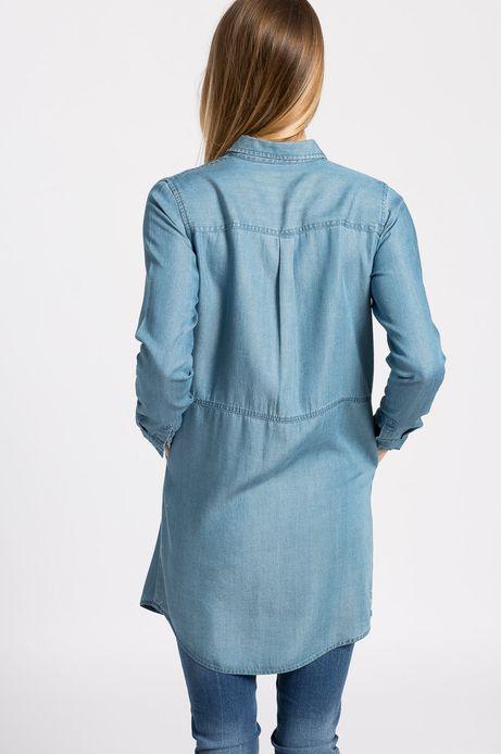 Woman's Sukienka Sunset  niebieska