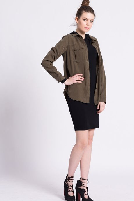Woman's Sukienka Urban Uniform czarna