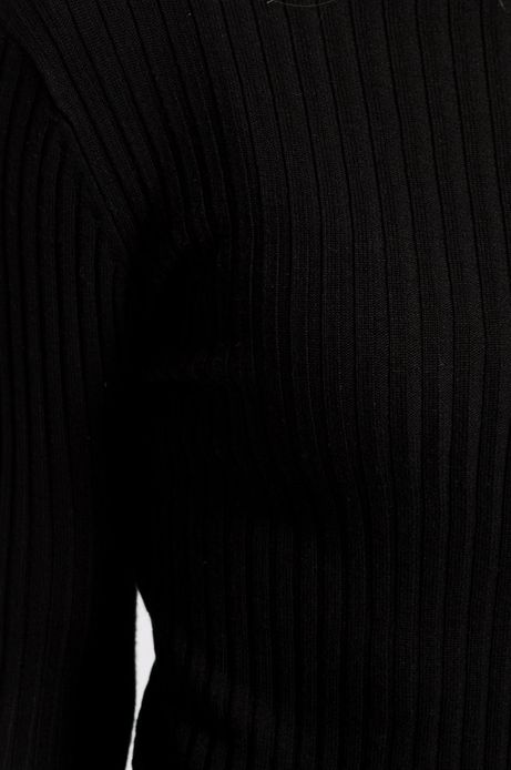 Woman's Sweter Sunset Blvd czarny
