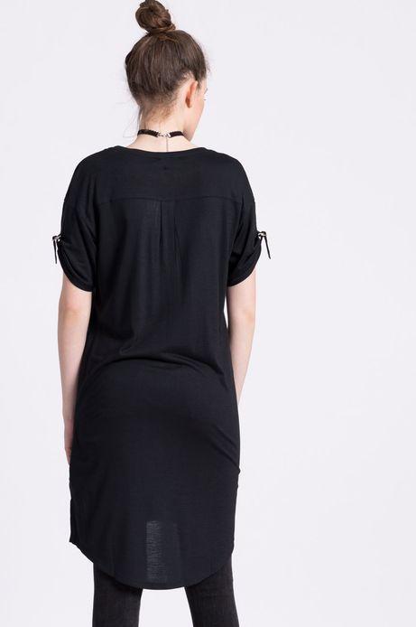 Woman's Sukienka Urban Uniform czarna