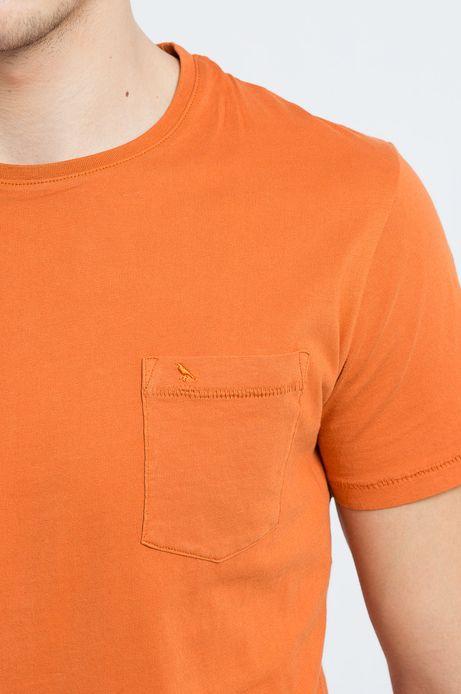 T-shirt Samurai pomarańczowy