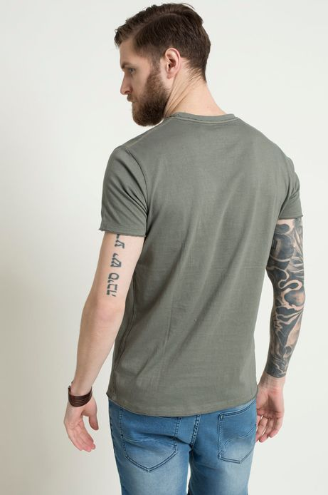 T-shirt The Botanist zielony