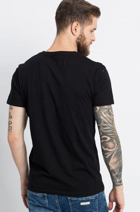 T-shirt Sunset Blvd czarny