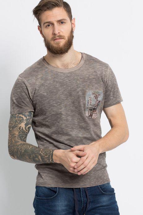 T-shirt Kaja Renkas for Medicine beżowy