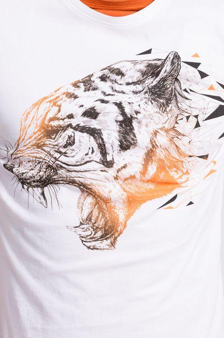 T-shirt Mikołaj Cielniak for Medicine biały