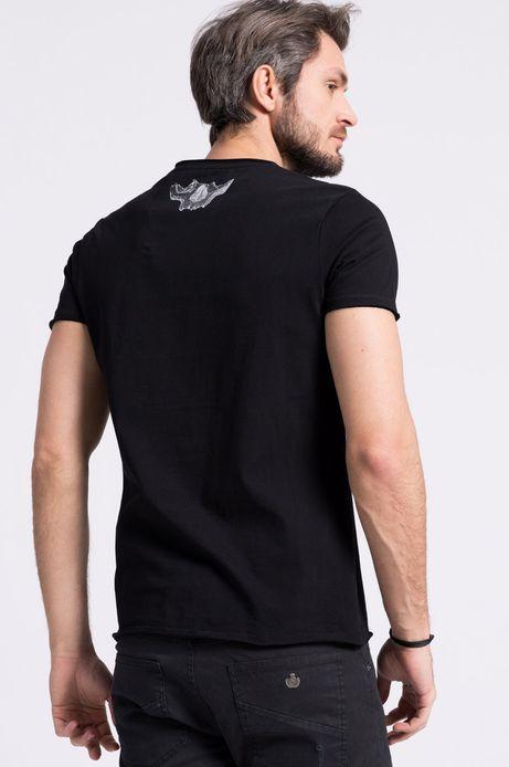 T-shirt Mikołaj Cielniak for Medicine czarny