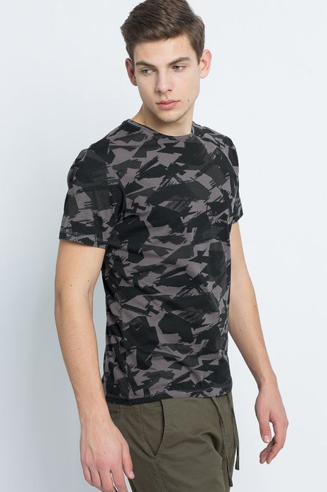 T-shirt Urban Uniform szary